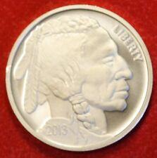 2013 INDIAN/BUFFALO DESIGN 1 oz .999% SILVER ROUND BULLION COLLECTOR COIN GIFT