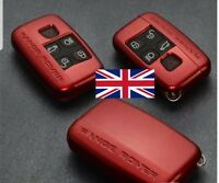 Range Rover Evoque Discovery Sport RED key case button light lettering accessory