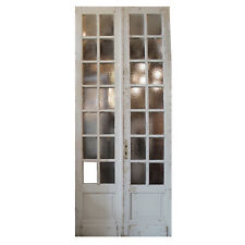 "Reclaimed Pair of Antique 44"" Doors, Ned948"