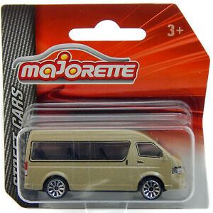 "Toyota HiAce H200 Gold, Majorette Street Cars 216C 2019 1:64 3"" inch Toy Car"