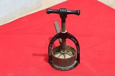Patented Vintage Scarce Iron Beatrice Meat Juice Press, England