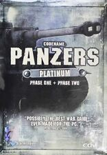 * Codename Panzers Platinum Phase One + Phase Two * PC DVD GAME Brand new Sealed