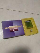 RARE!!!! BOXED MAKKO MGD2 SRAM 8M RAM CARD (CRYSTAL BLUE)