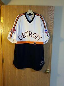 NLBM Detroit Stars #10 Sewn Baseball Jersey XXL 2XL