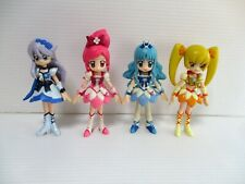 HeartCatch PreCure Cure Doll Pretty Cure Figure Set of 4 combine save Japan Used