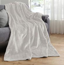Noble fourrure imitation COUVERTURE OPTIQUE VISON Couvre-lit Plaid Sofa Fell (W)