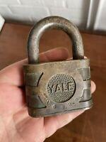 Vintage ~ Brass Yale L&N RR ~ Louisville & Nashville Railroad LOCK