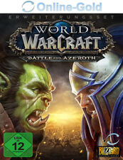 WoW - Battle for Azeroth - World of Warcraft Add-On DLC Code PC MAC - EU/DE