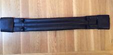 Quality Black Leather Lemetex Dressage Girth 70cms / 27.5ins
