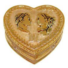 Boite Napoléon et Marie-Louise - Boite Cœur Copie Fabergé - Cadeau St Valentin