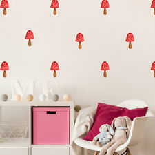 Single Toadstool interior décor art sticker decal by The Fox in the Attic