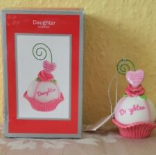 Clintons Cards Heirloom Tree Ornament Collection 2013 Daughter Cup Cake