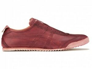 Asics Onitsuka Tiger MEXICO SLIP-ON DELUXE 1181A453 DRIED ROSE With shoes bag