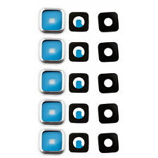 5x Back Rear Lens Camera Cover for Samsung Galaxy S5 i9600 G900T G900 G9005