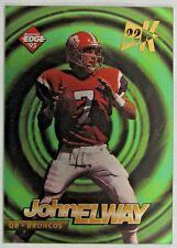 1995 Collector's Edge Edge Tech 22K Gold John Elway #5 Broncos Near Mint