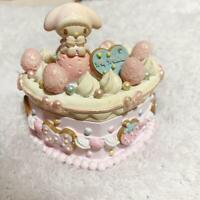 Sanrio My Melody Accessory Case Jewelry Box Figure Doll Figurine Cake Type F/S