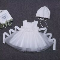 Baby Girl Christening Dress Girls Lace Baptism Dress Lace Baby Girls Sleeveless