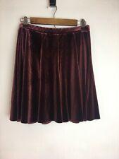 Kimchi Blue Women's Velvet Skirt Size L