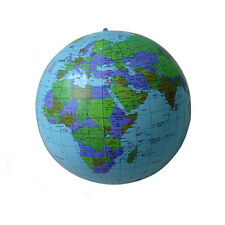 Practical 40CM Inflatable World Globe Teach Education Geography Toy Map Balloon
