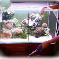 Aquarium Clean Vacuum Water Change Gravel Cleaner Fish Tank Siphon Pump PbHF