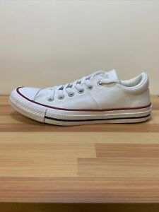 Converse Chuck Taylor All Star Low Top White Shoes Sneakers Women Size 7