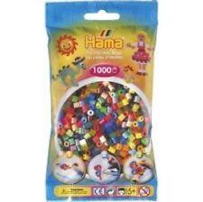 Hama - 207-68 Sachet 1000 Perles à repasser Multicolore