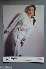 R&L Ex-Mag Advert: Regine Thierry Mugler / Caren Pfleger, Gideon Lewin, Fashion