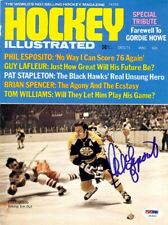 Phil Esposito Autographed Signed Hockey Illustrated Cover Bruins PSA/DNA U93803