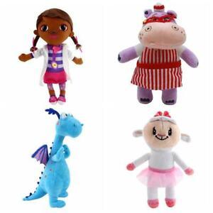 Doc McStuffins Plush Toy Girl Sheep Dinosaur Hallie Hippo Stuffed Doll Kids Gift