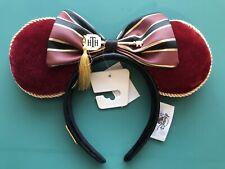 Disney Parks HOLLYWOOD TOWER HOTEL Terror Minnie Ears Headband By LOUNGEFLY