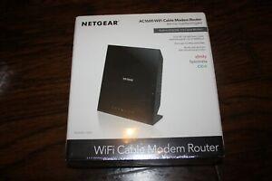 New NETGEAR AC1600 WiFi Cable Modem Router C6250 Dual Band  802.11ac Gigabit