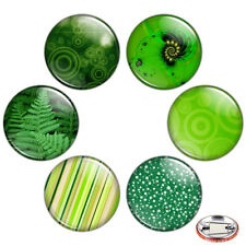 "Green Color 1.25"" Pinback Button BADGE SET #2 Novelty Pins Mini Gifts 32 mm"