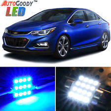 14 x Premium Blue LED Lights Interior Package for Chevy Cruze 2010-2017 + Tool