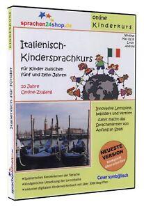 Kindersprachkurs Italienisch lernen für Kinder - Download-Software