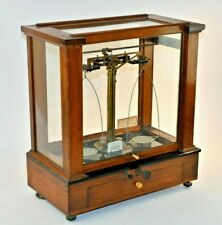 1920's ANTIQUE CHRISTIAN BECKER CHAINOMATIC ANALYTICAL BALANCE SCALE