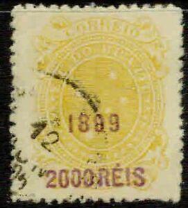 BRAZIL– 1899 – OVERPRINT – VF°