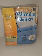 BIDDEFORD Queen Electric Warming Blanket Green 2 Controllers NIP
