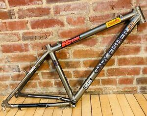 "Gary Fisher Mountain Bike Frame 15"" MTB Rim Brake 135 mm Alloy Grey"