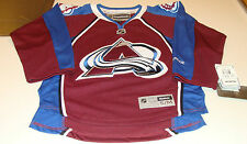 Colorado Avalanche Home Jersey Child S/M Reebok Youth Kids Age 8-12 NHL Hockey