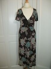 PLANET 100% silk meadow floral beaded embellished tea party occasion dress Sz 10