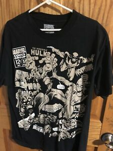 MARVEL COLOR-CHANGING TSHIRT SIZE L -LOOK!