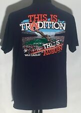 Auburn Tigers War Eagle NCAA SEC College Team This Is Tradition Large T-shirt