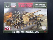 (L171)FLAMES OF WAR GERMAN STUG G PLATOON 5 ASSAULT GUNS