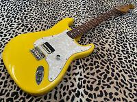 SC Relics Tom Delonge Style Fender Stratocaster Light Relic Graffiti Yellow