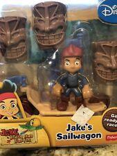 Disney's Jake and The Never Land Pirates - Jake's Sailwagon NIB