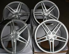 "18"" Twin 5 RADIOS RUEDAS DE ALEACIÓN AJUSTE BMW E34 E39 E60 E61 F11 F10 5 6 7 8 serie F13"