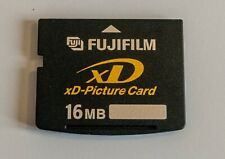 16MB Fujifilm xD-Picture Card suitable for older Fujifilm & Olympus cameras