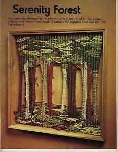 Suspendu Mural Art Motif Vintage Tissage Pour Décor Maison Craft Livre Notice