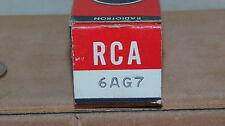 VINTAGE RCA RADIO TUBE TELEVISION TUBE USED 6AG7 NOT TESTED