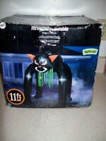HALLOWEEN 11 FT BLACK CAT  ARCHWAY ARCH Airblown Inflatable  3045